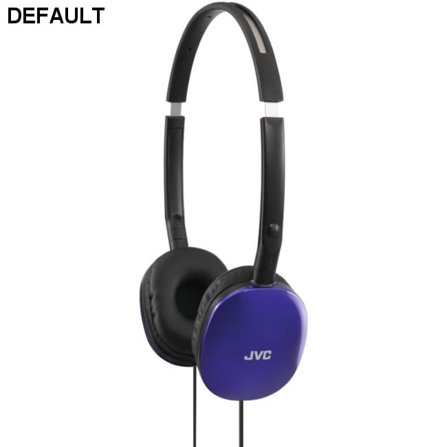 JVC(R) HAS160A FLATS Lightweight Headband Headphones (Blue)