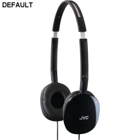 JVC(R) HAS160B FLATS Lightweight Headband Headphones (Black) - DRE's Electronics and Fine Jewelry: Online Shopping Mall