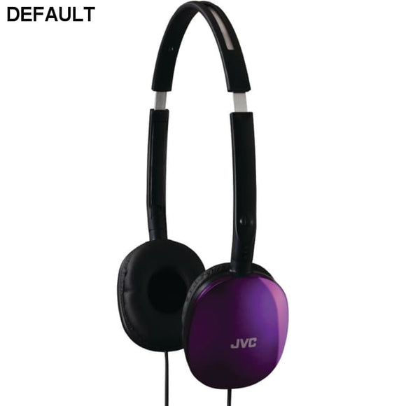 JVC(R) HAS160V FLATS Lightweight Headband Headphones (Violet) - DRE's Electronics and Fine Jewelry: Online Shopping Mall