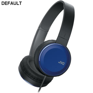 JVC(R) HAS190MA Colorful On-Ear Headphones (Blue)