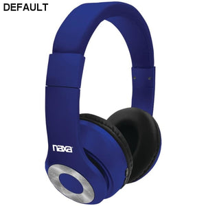 Naxa(R) NE-965 BLUE BACKSPIN Bluetooth(R) Headphones (Blue)