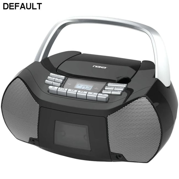 Naxa(R) NPB-268 Portable CD/Cassette Boom Box - DRE's Electronics and Fine Jewelry: Online Shopping Mall