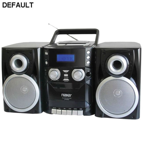 Naxa(R) NPB426 Portable CD Player with AM/FM Radio, Cassette & Detachable Speakers - DRE's Electronics and Fine Jewelry: Online Shopping Mall