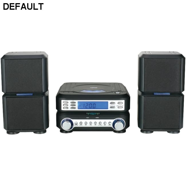 Naxa(R) NSM438 Digital CD Micro System with AM/FM Radio - Electronics & computer||Portable audio & video||Shelf stereo systems