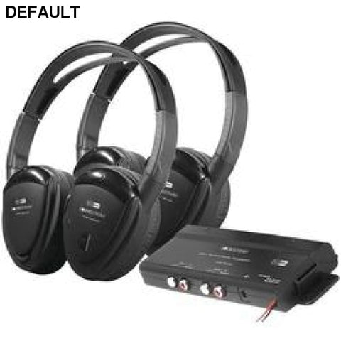 Power Acoustik 2 Sets Of 2-channel Rf 900mhz Wireless Headphones With Transmitter - DRE's Electronics and Fine Jewelry: Online Shopping Mall