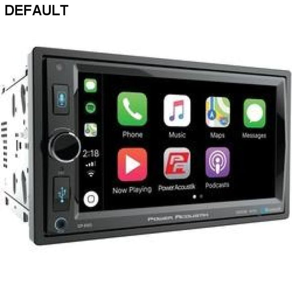 "Power Acoustik 6.5"" In-dash Double-din Digital Media Receiver With Bluetooth & Apple Carplay - DRE's Electronics and Fine Jewelry: Online Shopping Mall"