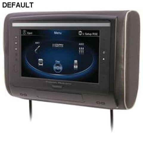 "Power Acoustik 9"" Lcd Universal Headrest With Ir & Fm Transmitters & 3 Interchangeable Skins (monitor Only) - DRE's Electronics and Fine Jewelry: Online Shopping Mall"