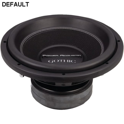 "Power Acoustik(R) GW3-12 Gothic Series 2ohm Dual Voice-Coil Subwoofer (12"", 2,500 Watts) - DRE's Electronics and Fine Jewelry: Online Shopping Mall"