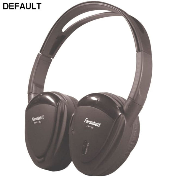 Power Acoustik(R) HP-11S 1-Channel Wireless IR Headphones