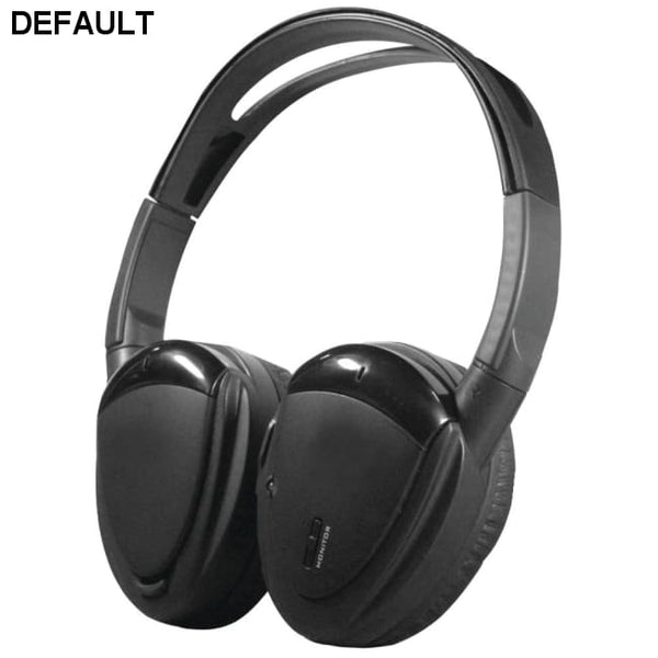 Power Acoustik(R) HP-900S 2-Channel RF 900MHz Wireless Headphones with Swivel Earpads
