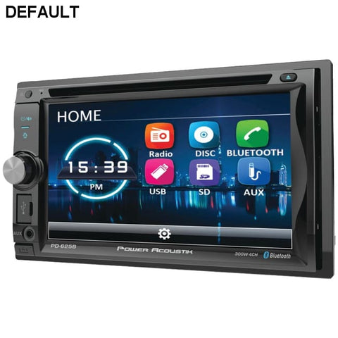 "Power Acoustik(R) PD-625B 6.2"" Incite Double-DIN In-Dash Detachable LCD Touchscreen DVD Receiver with Bluetooth(R) - DRE's Electronics and Fine Jewelry: Online Shopping Mall"
