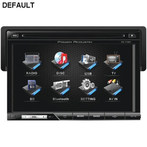 "Power Acoustik(R) PD-710B 7"" Single-DIN In-Dash LCD Touchscreen DVD Receiver with Detachable Face (With Bluetooth(R)) - DRE's Electronics and Fine Jewelry: Online Shopping Mall"