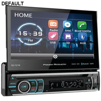 "Power Acoustik(R) PD-721B 7"" Incite Single-DIN In-Dash Motorized LCD Touchscreen DVD Receiver with Detachable Face & Bluetooth(R) - DRE's Electronics and Fine Jewelry: Online Shopping Mall"