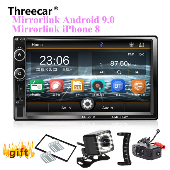 2 Din Car Radio Bluetooth Mirror link Android 9 Car Multimedia Player HD Touch Autoradio MP5 USB Audio Stereo Car Monitor - DRE's Electronics and Fine Jewelry: Online Shopping Mall