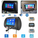 Automotive Universal 7-inch Rear Headrest Seat Entertainment Multimedia Player HD Digital LCD Screen Display Car Monitors