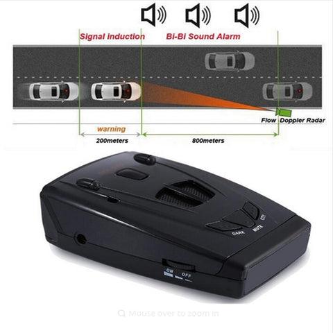 2020 Anti Radars STR-535 Car Detector Strelka Alarm System Brand Car Speed Radar Laser Radar Detector For Russian Car-detector