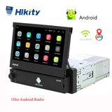 Hikity Android 1din Quad-Core Car GPS Navigation Player 7'' Universa Car Radio WiFi Bluetooth MP5 1 DIN Multimedia Player NO DVD