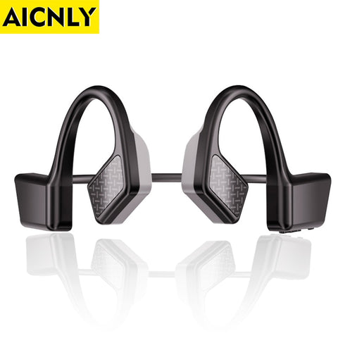 AICNLY Bone Conduction Earphone Wireless Bluetooth Headset Bluetooth 5.0 K08 Gaming Headset Sport Earbuds None In-ear Headphones
