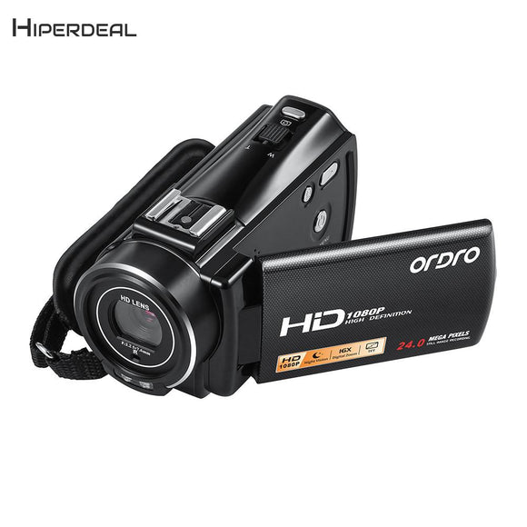 HIPERDEAL ORDRO V7 Plus HD 1080P Video Camcorder 16X Digital Zoom DV Camera External MIC Professional Digital Camera BAY242 - DRE's Electronics and Fine Jewelry: Online Shopping Mall