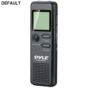 Pyle Home(R) PVR300 Rechargeable Digital Voice Recorder with USB & PC Interface - DRE's Electronics and Fine Jewelry: Online Shopping Mall