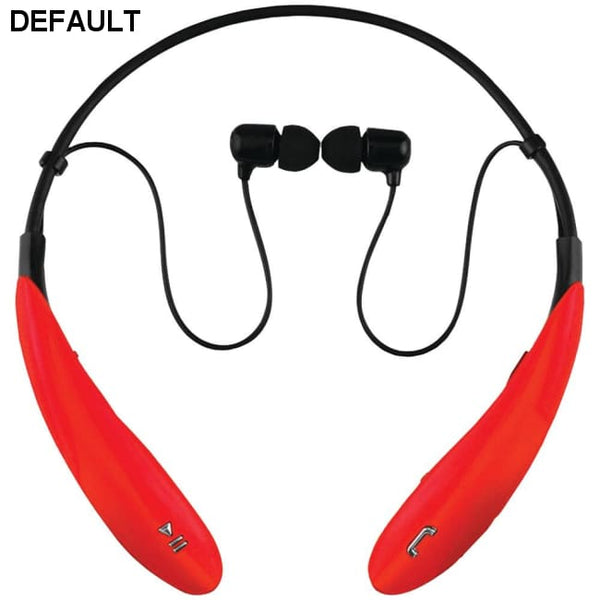 Supersonic(R) IQ-127BT RED IQ-127 Bluetooth(R) Headphones with Microphone (Red)