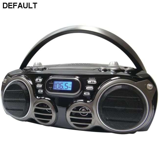 SYLVANIA(R) SRCD682BT Bluetooth(R) Portable CD Radio Boom Box with AM/FM Radio