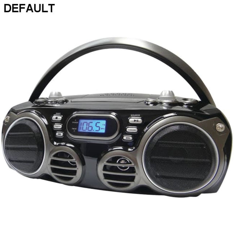 SYLVANIA(R) SRCD682BT Bluetooth(R) Portable CD Radio Boom Box with AM/FM Radio - DRE's Electronics and Fine Jewelry: Online Shopping Mall