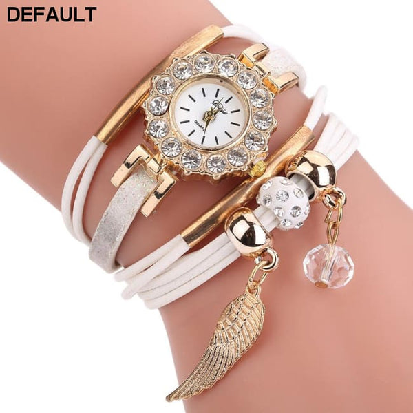 Watches Women Popular Quartz Watch Luxury Bracelet Flower Gemstone Wristwatch - DRE's Electronics and Fine Jewelry: Online Shopping Mall