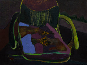 "Igor Moritz - ""Chair With Tigers Pillow"""