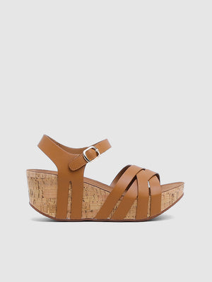 Claudine Wedge Sandals