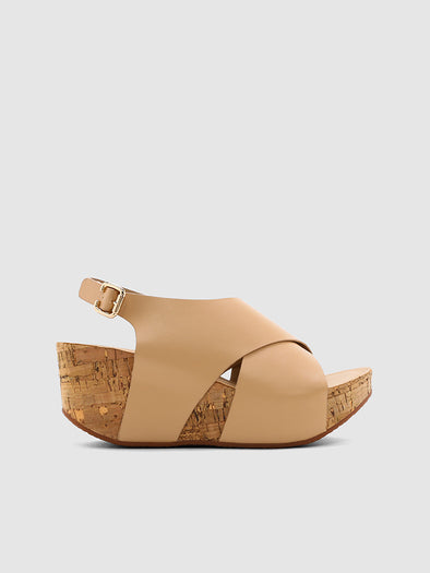 Ray Wedge Sandals