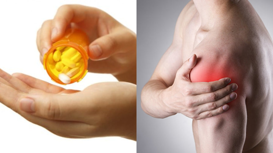 Analgesic anti-inflammatory drugs hinder the enhancement of muscle it?