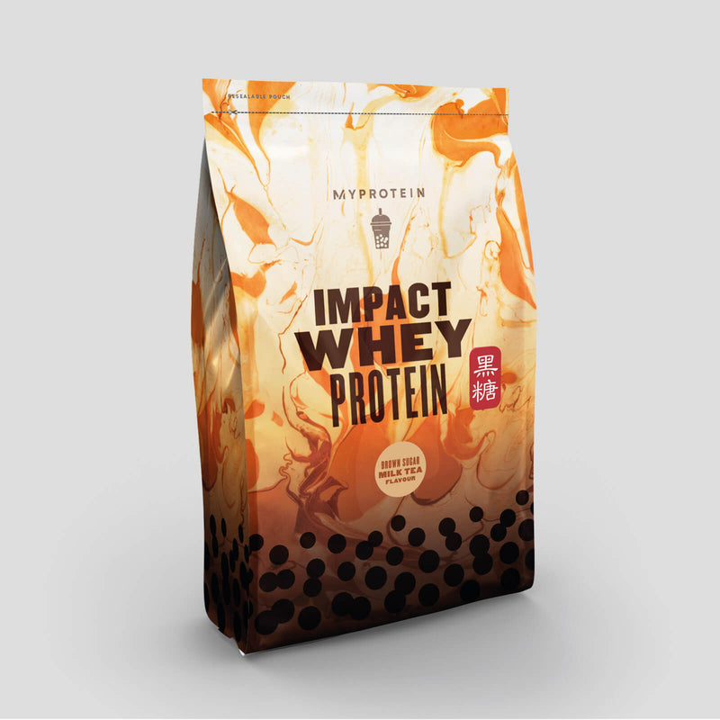 Myprotein Impact Whey Protein - Brown Sugar Milk Tea 限量版!黑糖珍珠奶茶