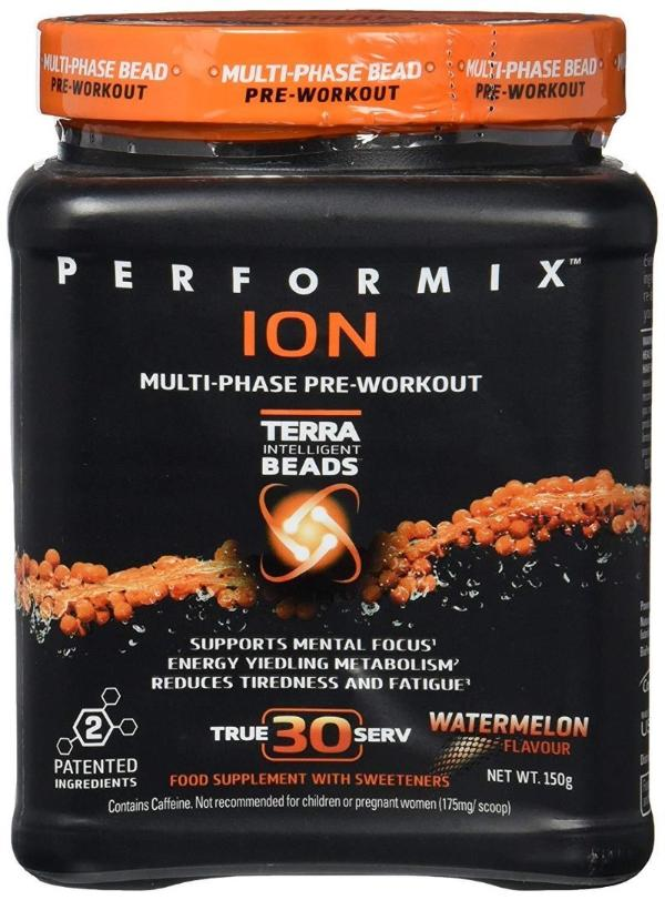 Performix ION Orange Ion Sustained Boost Pours Surging Muscle Strength
