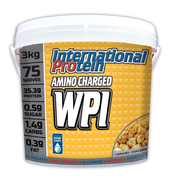 International Protein Amino Charged WPI Made in Australia Low-Fat / Low-Glycemic Whey Protein Isolate Whey Peptides