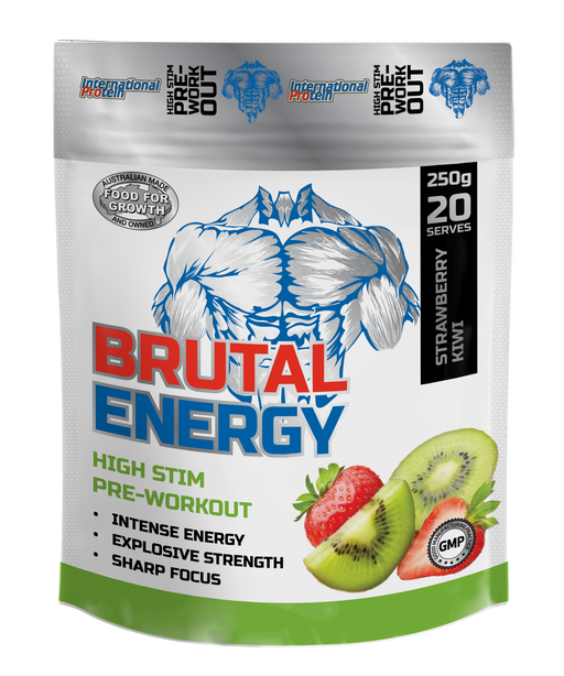 International Protein Brutal Energy (pre-workout) 暴能增力補充品