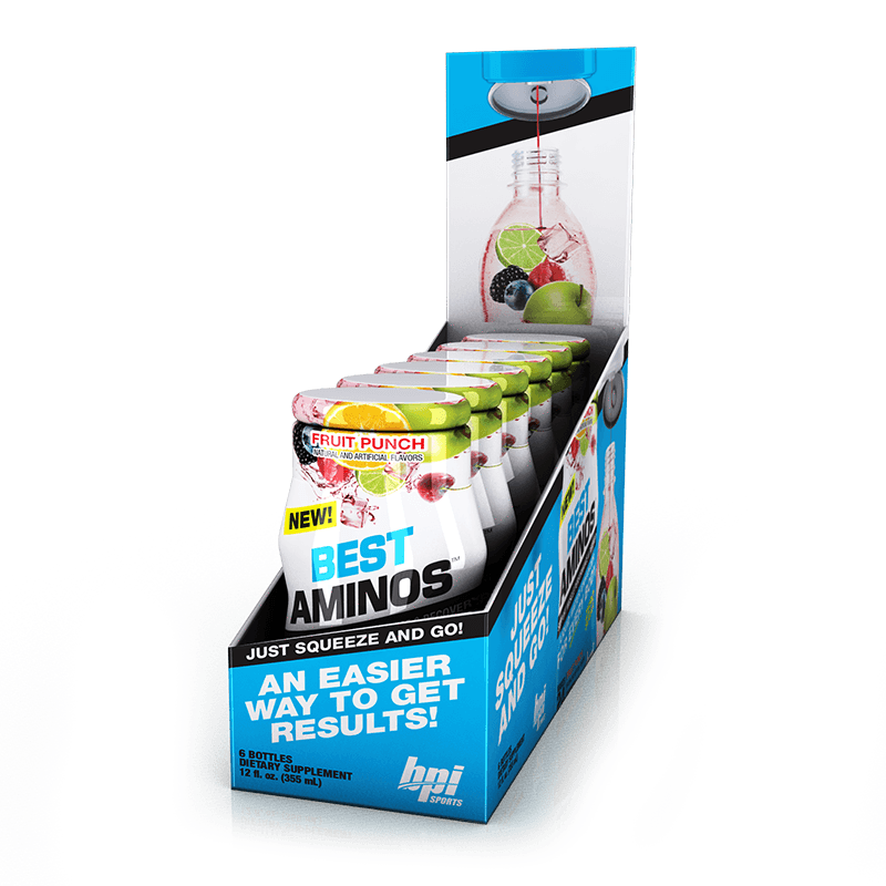 BPI Sports - Liquid Water Enhancer Best Aminos(一盒6支)