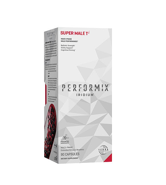 Red Black Pill Performix IRIDIUM ™ Super Male Ti Concentrated Potent Long Lasting Muscle Accelerator (Advanced)
