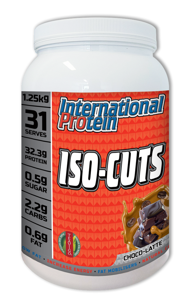 International Protein ISO CUTS 澳洲制造高蛋白消脂增肌奶粉