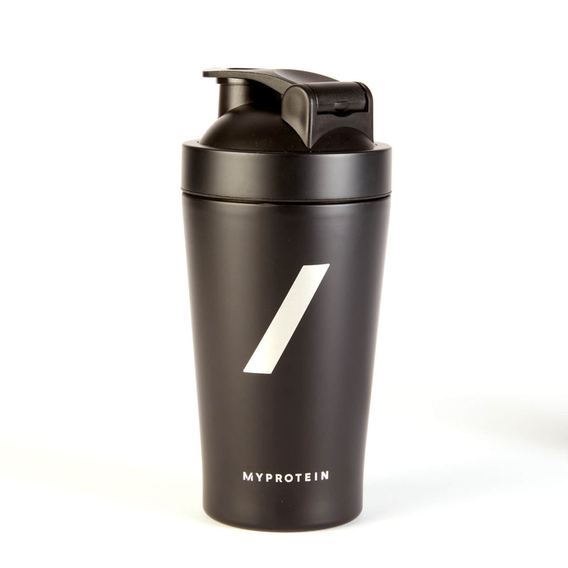 Myprotein Black Friday Mini Metal Shaker (590ml 容量黑色不銹鋼水樽)