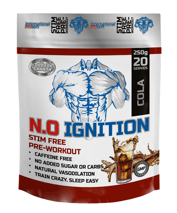 "International Protein NO Ignition (Stim Free) ""NO Nitric Oxide Enhancer"" (non-irritant formula)"