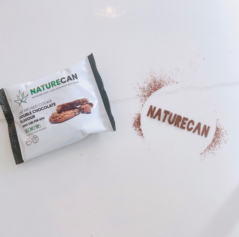 Naturecan CBD Infused Cookies - Double Chocolate (Box of 12)