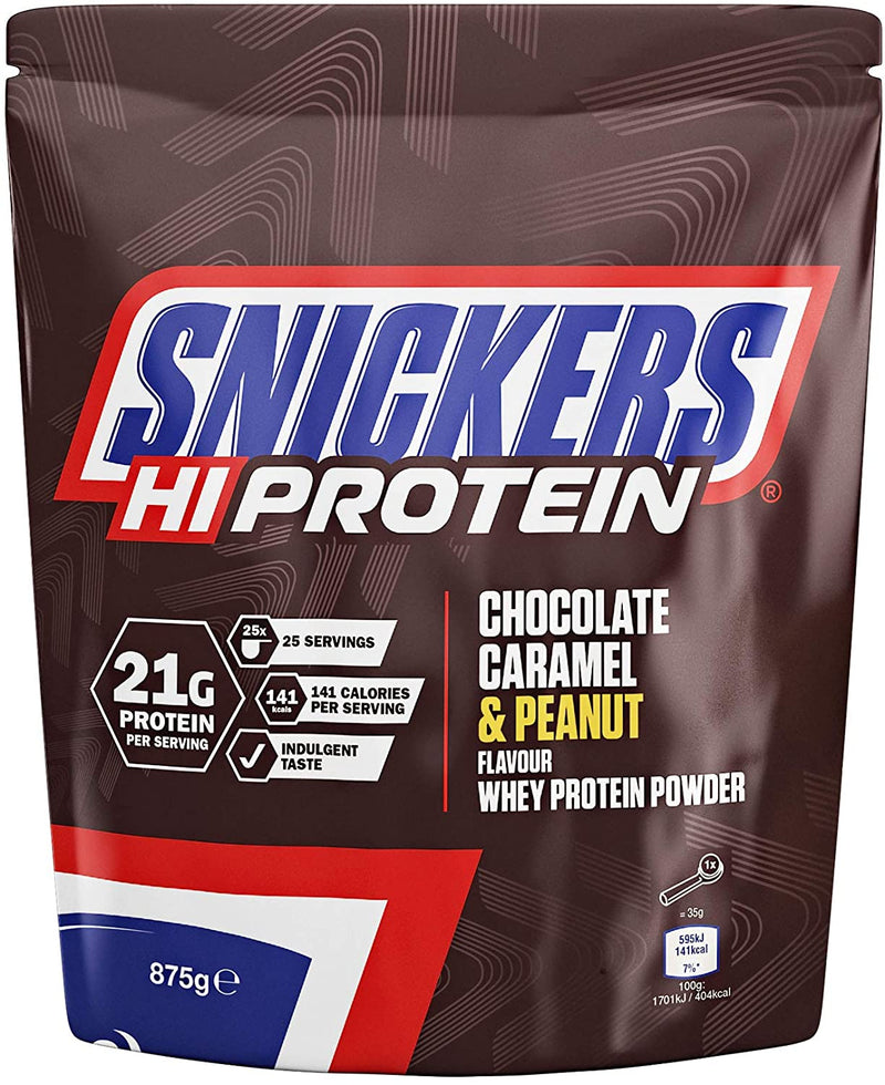 Snickers Protein Powder 英國製造 Snickers x HIPROTEIN 特濃朱古力乳清蛋白