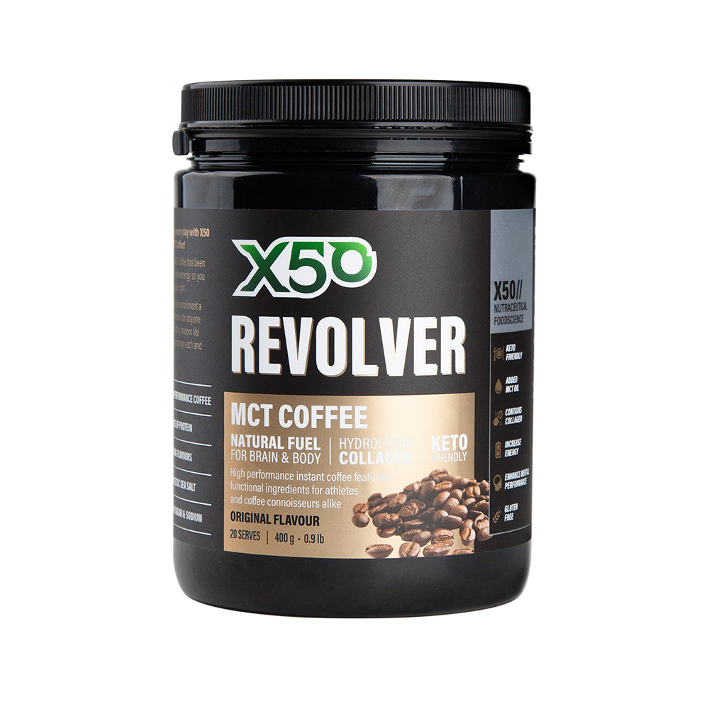 "X50 Revolver ""Bulletproof Coffee"" (for ketogenic diet to add collagen)"
