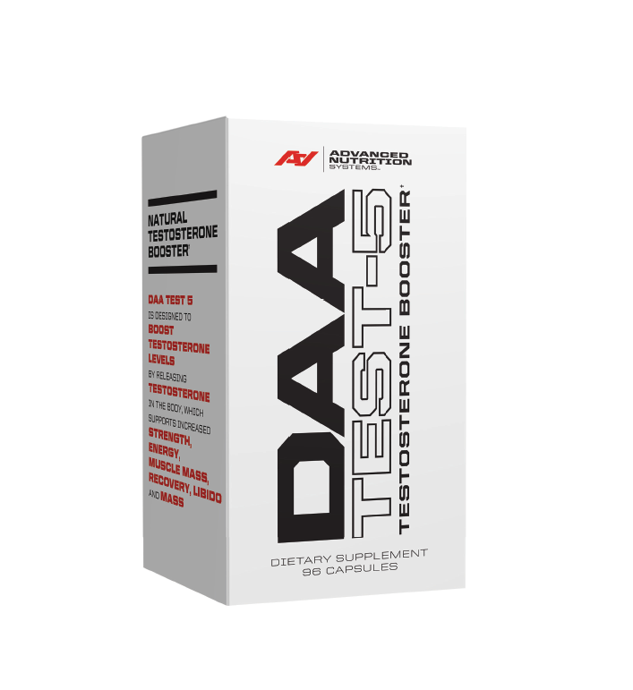 Advanced Nutrition Systems DAA TEST-5 Five of the most natural and effective herbal boosting formula