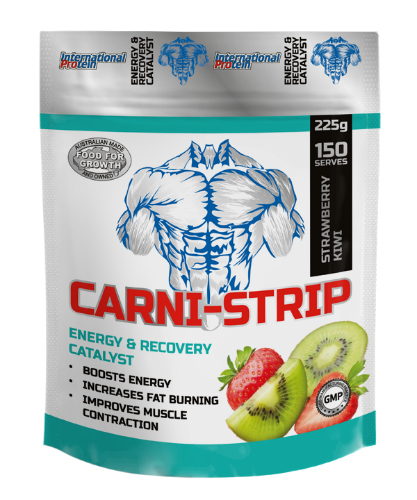 International Protein Carni-Strip L-carnitine (three combinations)