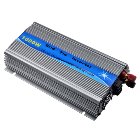 1000W Solar Inverter Grid Tie Inverter DC20V~45V to AC110V or 220V 50Hz/60Hz CE