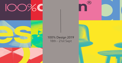 100% Design 2019 (18th - 21st September)