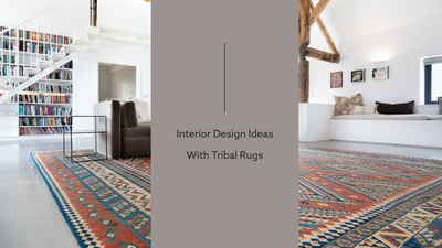 Interior Design Ideas With Tribal Rugs