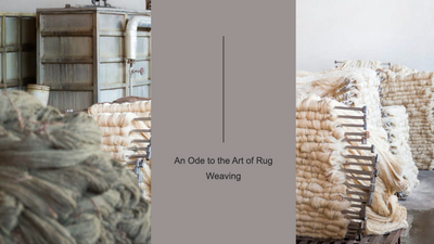 An Ode to the Art of Rug Weaving